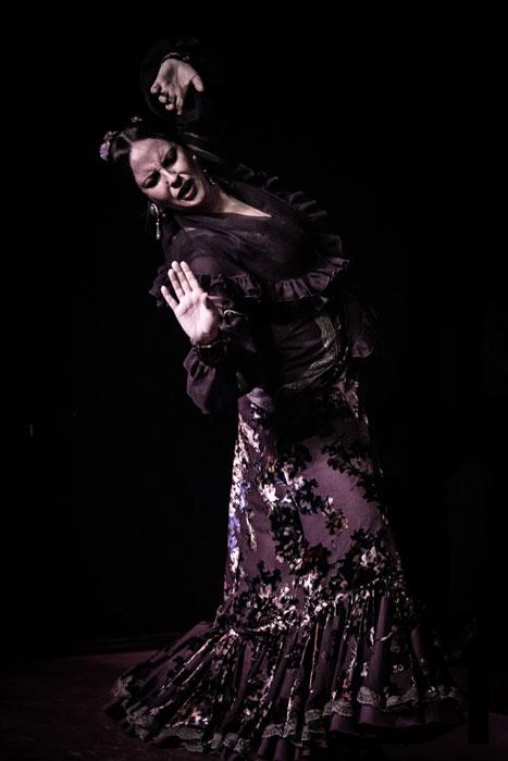 Alejandra Gaudí, bailaora, fotografiada por Alberto Romo