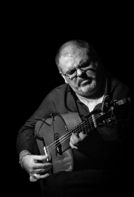 El guitarrista Juan Jose Ramos, Niño Manuela