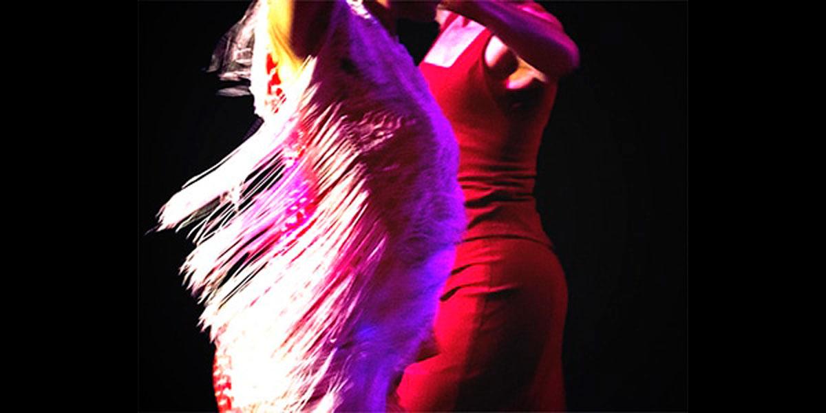 Escena de baile Flamenco
