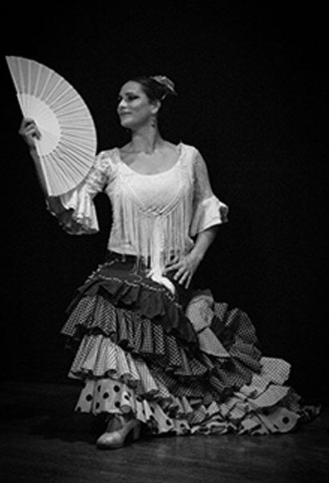 Ana Gonzáles bailaora flamenca