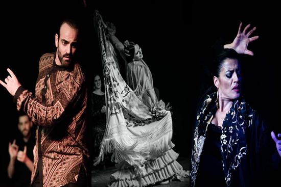 Mariana Collado, Ruben Ramos y Daniel Puertas