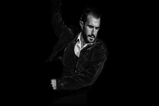 Cuadro flamenco Las Tablas y Paco Hidalgo
